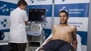 Jordi Alba przeszedł testy medyczne