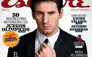 Messi na okładce Esquire