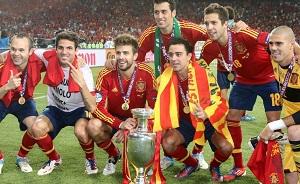 Piłkarze Barçy otrzymają mniejszą premię za Euro