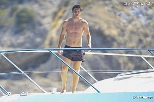 Messi relaksuje się na plaży