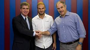 David Lombán podpisał kontrakt z FC Barceloną