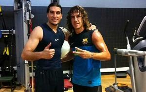 Dodatkowy trening Pinto i Puyola