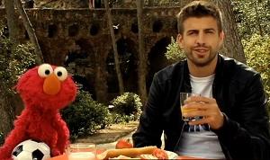 Piqué i Elmo dla zdrowia dzieci