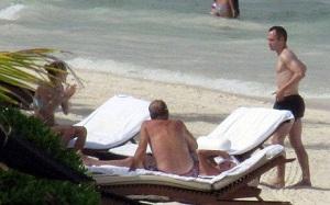 Iniesta spędza miesiąc miodowy w Meksyku