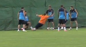 Pinto kontuzjował Alexisa