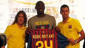 Kobe Bryant stracił trening Barçy