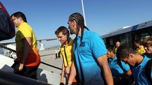 Piłkarze wyruszyli do Hamburga