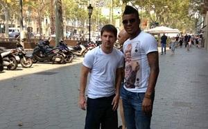 Holenderski bramkarz fanem Messiego