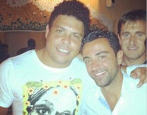 Ronaldo i Xavi