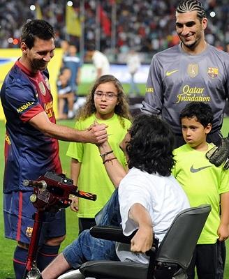 Leo Messi, Jose Pinto