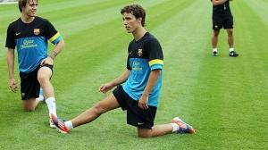 Grimaldo wraca do treningów