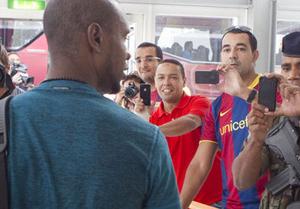 Abidal rozpocznie spotkanie z PSG