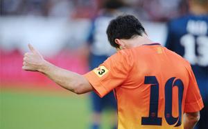 Messi najlepszym strzelcem presezonu