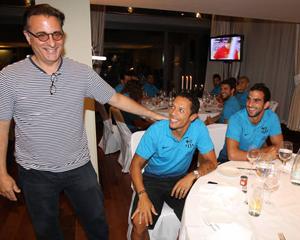 Andy García odwiedził drużynę