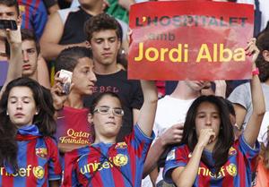 Camp Nou celebruje wynik Realu Madryt