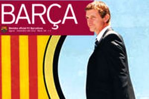 Tito Vilanova na okładce Revista Barça