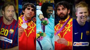 Gracze Barçy z pięcioma medalami