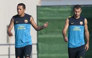 Adriano trenował z kolegami
