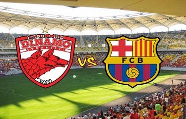 Ostatni presezonowy mecz: Dinamo Bukareszt – FC Barcelona