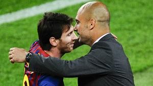 Guardiola i Messi ideałami dla dzieci