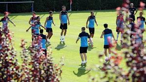 Ostatni trening przed Manchesterem United