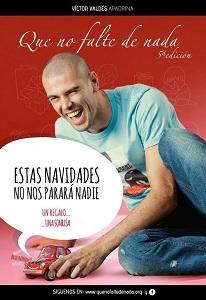 Víctor Valdés bierze udział w kampanii charytatywnej