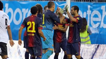 Czerwone Diabły ujarzmione: Manchester United 0 (0)-0 (2) FC Barcelona