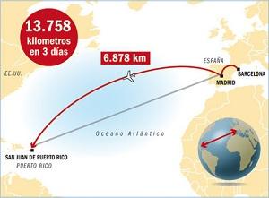 13 758 kilometrów na absurdalne spotkanie