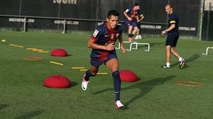 Trening z wszystkimi piłkarzami