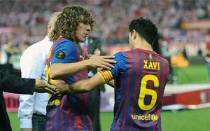 Puyol i Xavi najwierniejszymi