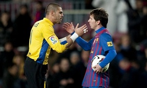 Messi i Valdés w drodze za legendą