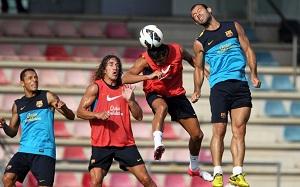 Barça i Sampdoria rano w Ciutat Deportiva