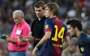 Dziewięciu debiutantów na Camp Nou