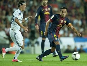 Xavi i Pedro na Real Madryt