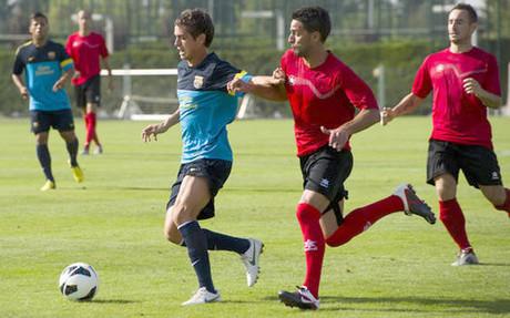 Barça B i manita przeciwko Santboii