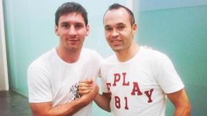 Messi i Iniesta ponownie w Monako