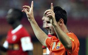 Messi, król presezonu