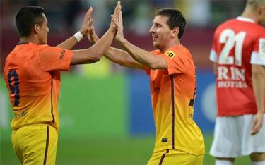 Presezon udanie zakończony: Dinamo Bukareszt 0-2 FC Barcelona