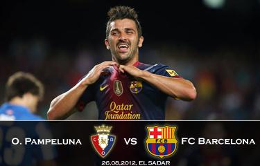Zapowiedź meczu Osasuna Pampeluna – FC Barcelona
