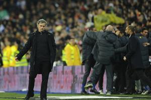 Mourinho, The Only One, który nie wygrał z Barçą na Bernabéu
