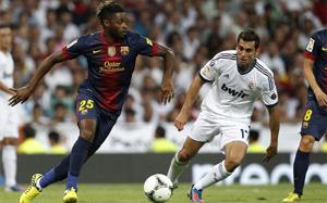 Alex Song – debiut bez błędu na Bernabéu