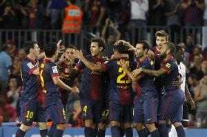 Barça jedną z ośmiu niepokonanych drużyn w Europie