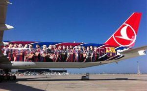 Turkish Airlines zaprzecza, że Barça chce żeński personel pokładowy