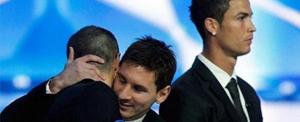 Leo Messi: Wszyscy jesteśmy zadowoleni z Iniesty