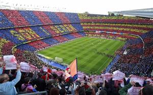 """Camp Nou stadion bardzo """"odporny"""" na Valencię"""