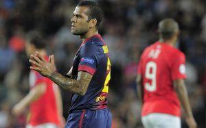 Dani Alves, największy pechowiec meczu ze Spartakiem