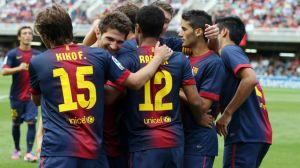 Czwarte zwycięstwo z rzędu: Hércules vs Barça B 0:3
