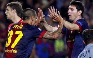 Messi niby niewidoczny, ale i tak strzela