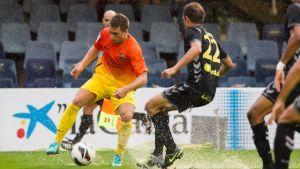 Remis w strugach deszczu; Barça B – Las Palmas 1:1