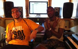 Pinto i Abidal razem w studiu
